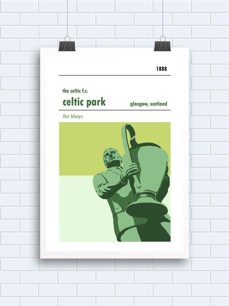 Celtic Park, Glasgow. Jock Stein