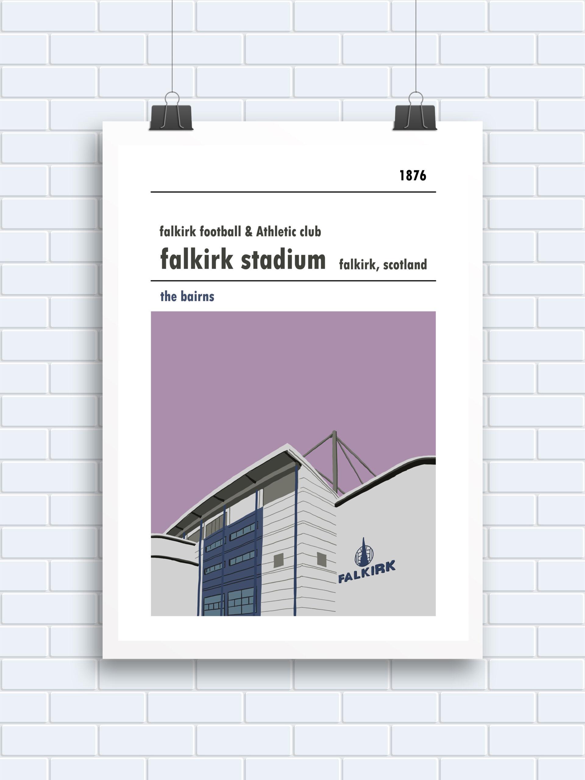 Falkirk Stadium, Falkirk
