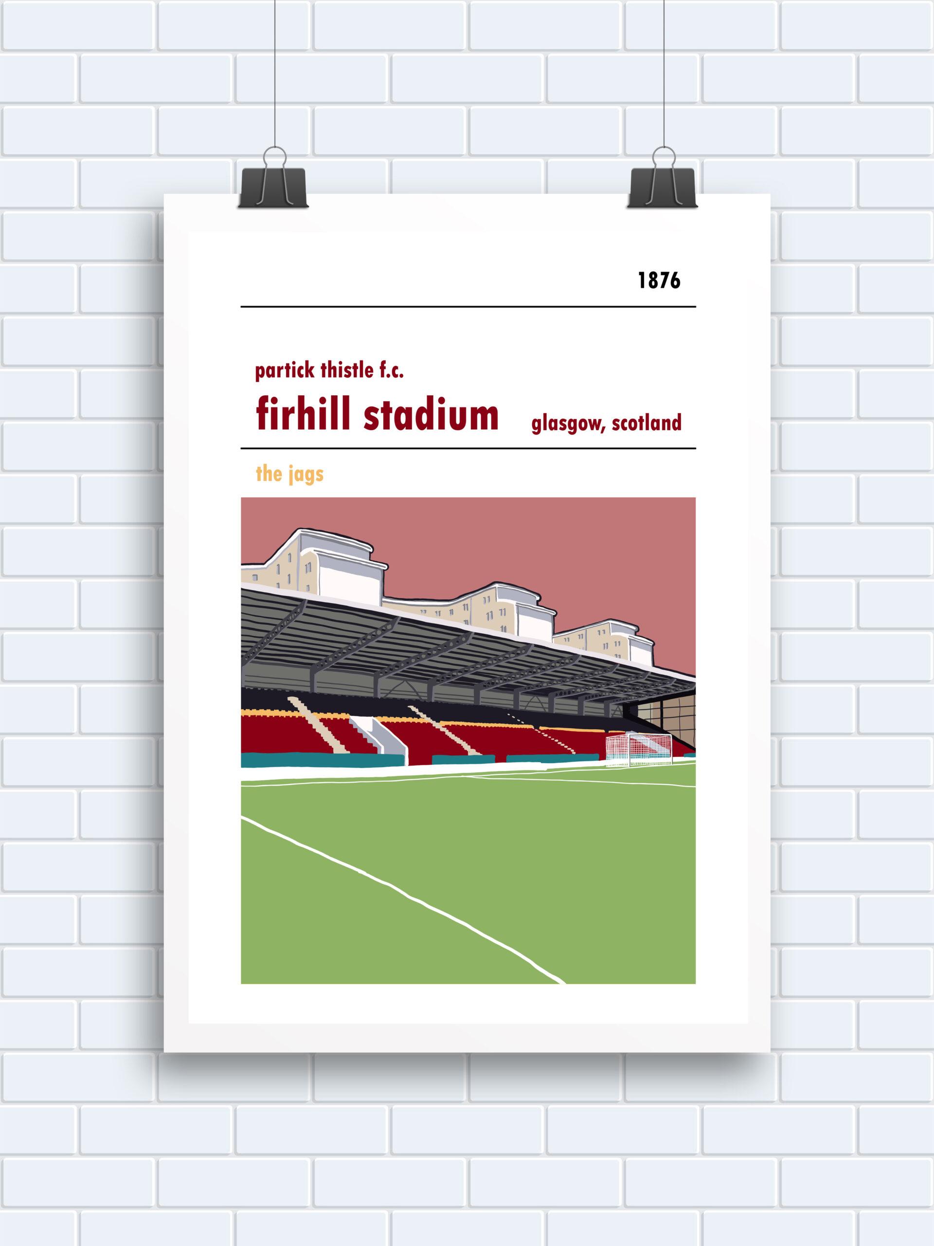 Firhill Stadium, Glasgow