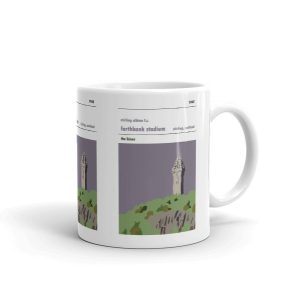 A coffee mug of Forthbank Stadium and Stirling Albion FC