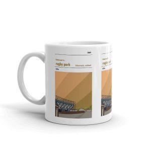 Coffee mug of Rugby Park and Kilmarnock F.C.