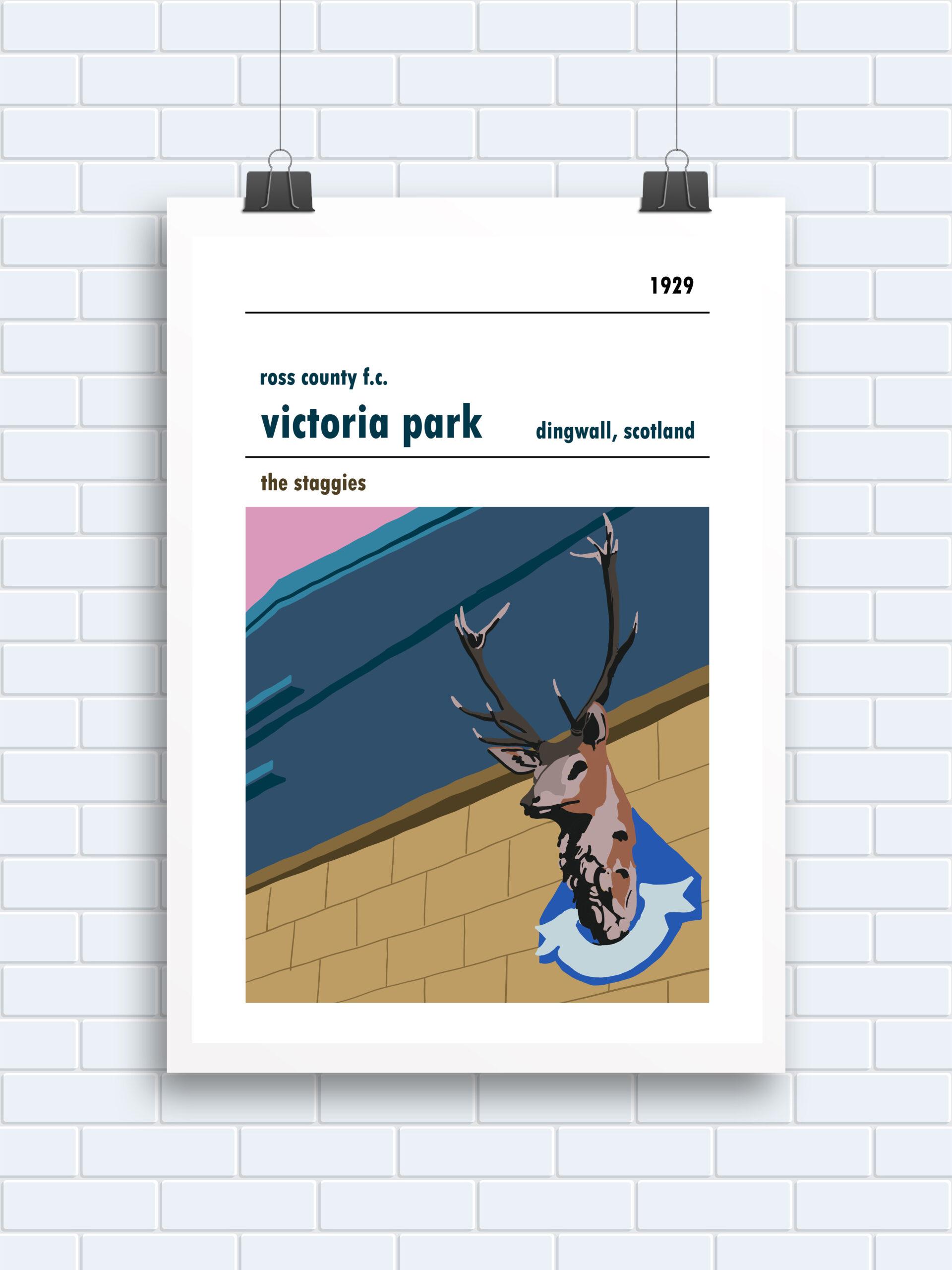 Victoria Park, Stag, Dingwall