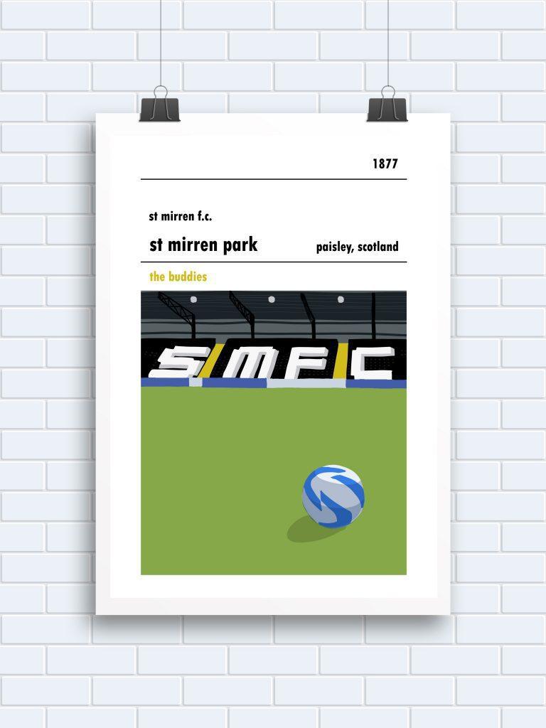 St Mirren Park, Paisley, West Stand