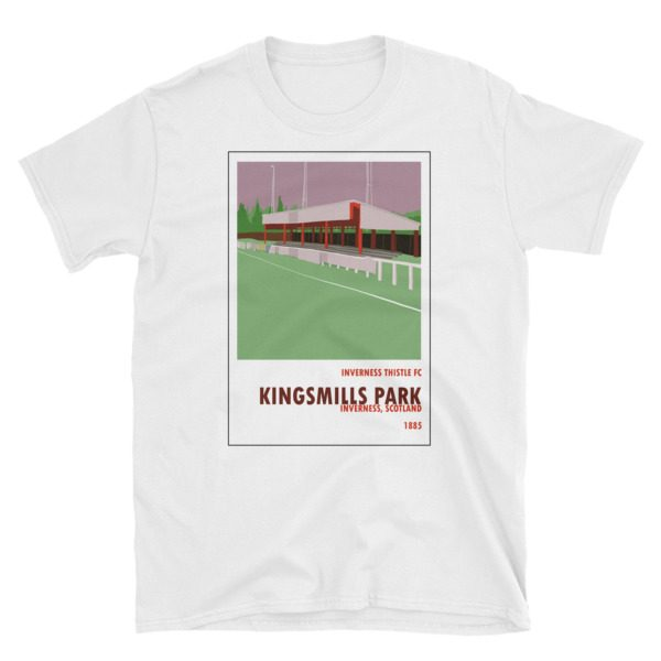 A t shirt of Kingsmills Park, home to Inverness FC.