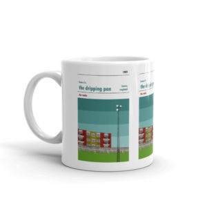 Coffee mug of the Dripping Pan and Lewes FC