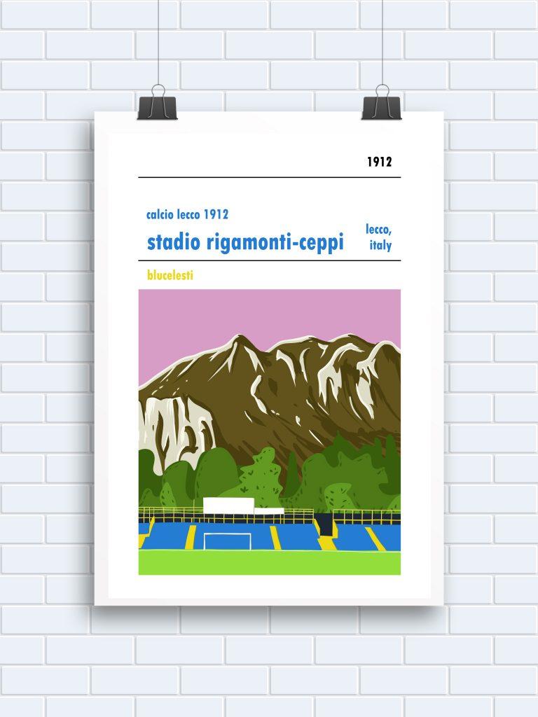 Stadio Rigamonti-Ceppi football poster