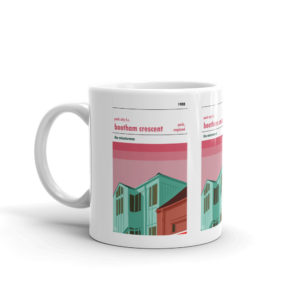 A coffee mug of York City FC and Bootham Crescent