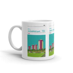 A coffee mug of Pollok FC and Newlandsfield Park