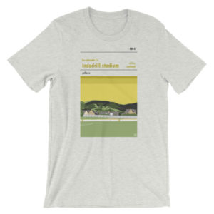 A t shirt of BSC Glasgow FC and Indodrill Stadium