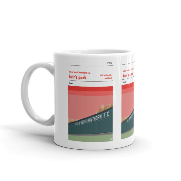 Coffee mug of Hill of Beith Hathorn FC and Keir's Park