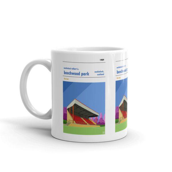 A coffee mug of Auchinleck Talbot and Beechwood Park