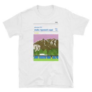 A white t shirt of Calico Lecco 1912