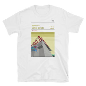 A t shirt of Valley Parade, home to Bradford City AFC
