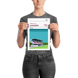 A small football print of Linlithgow Rose and Prestonfield