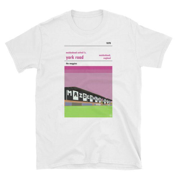 A white t shirt of Maidenhead United FC