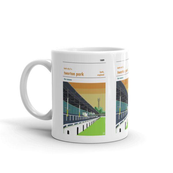 Twerton Park coffee mug by Football Stadium Prints