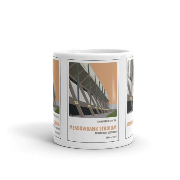Coffee mug of Meadowbank Stadium and Edinburgh City FC