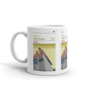 A coffee mug of Valley Parade and Bradford AFC