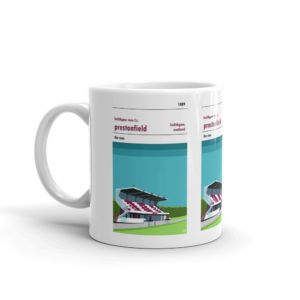 A coffee mug of Linlithgow Rose and Prestonfield