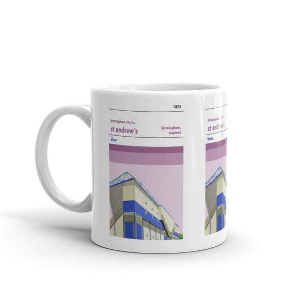 Coffee mug of St Andrew's and Birmingham City FC