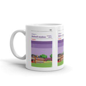 Coffee mug of Darlington FC and Blackwell Meadows