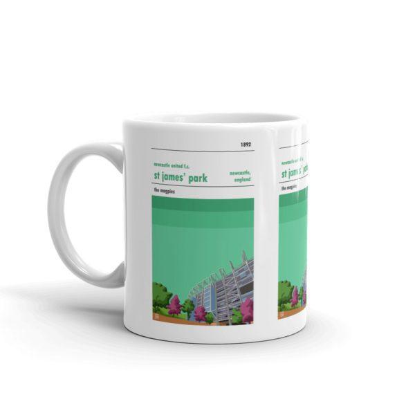Coffee mug of Newcastle United FC and St James Park