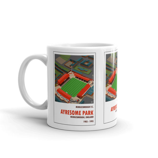 Coffee mug of Middlesbrough FC and Ayresome Park