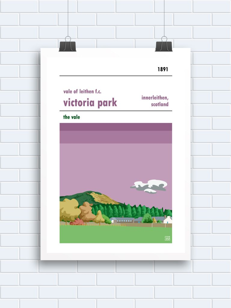 Vale of Leithen Victoria Park Print