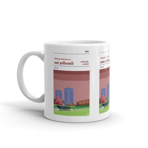 Coffee mug of Edinburgh University FC and East Peffermill