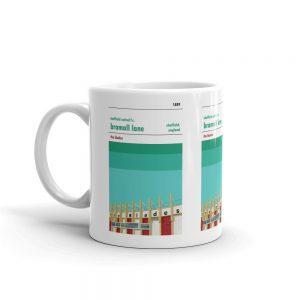 A coffee mug of Bramall Lane and Sheffield United FC