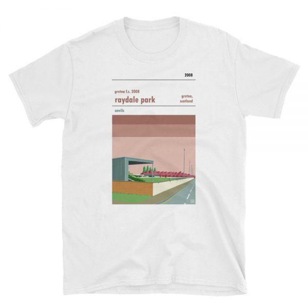 Gretna FC 2008 white t shirt