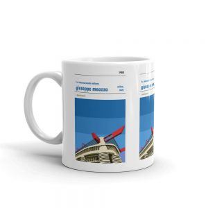 A coffee mug of Inter Milan and San Siro