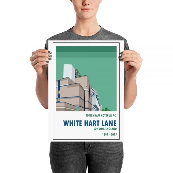 A medium sized football poster of White Hart Lane and Tottenham