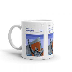 Blackburn Rovers FC coffee mug