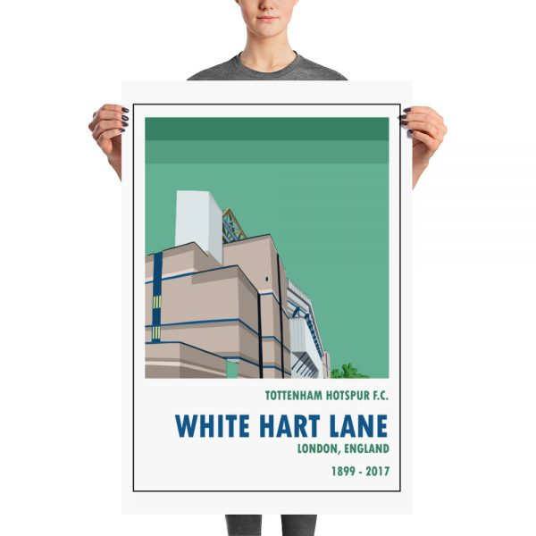 Vintage gift of Old White Hart Lane and Spurs