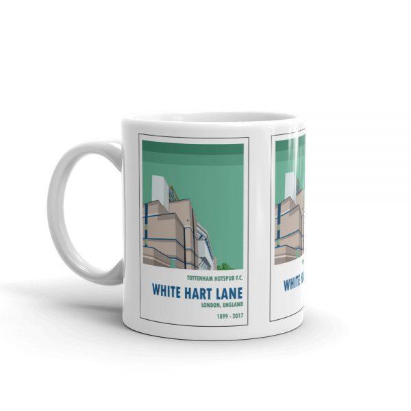 A coffee mug of Old White Hart Lane. Tottenham Hotspur