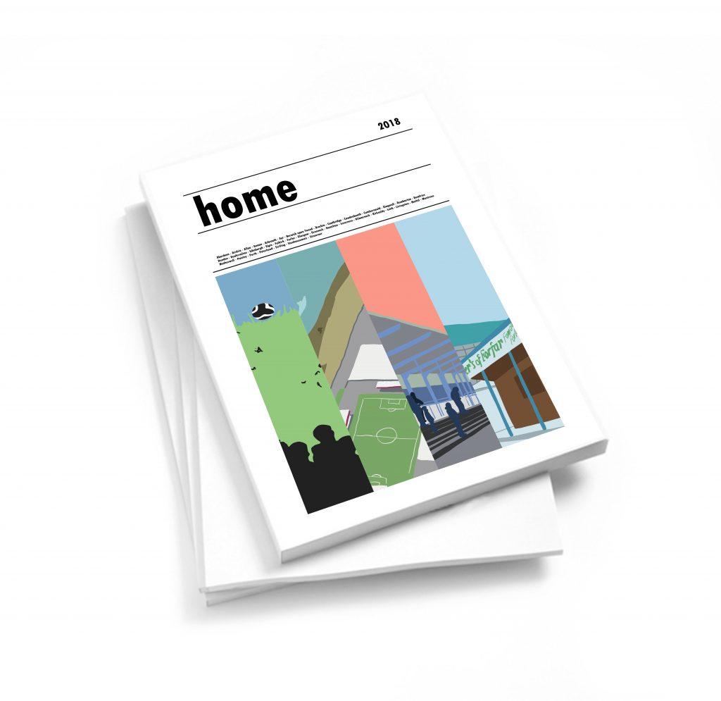 HOME: Scottish Football Stadium Prints