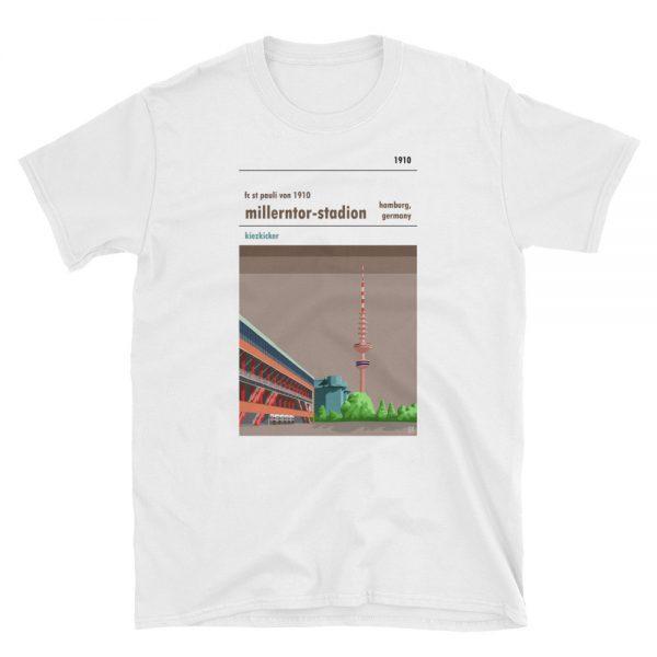 A white t shirt of St Pauli FC