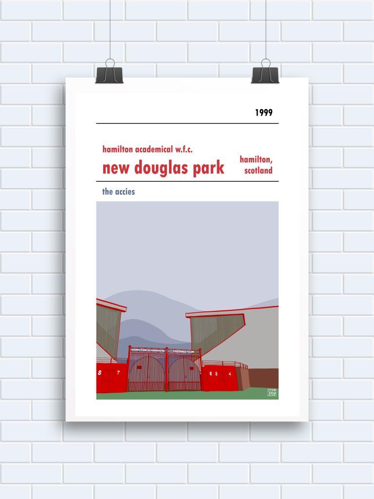 New Douglas Park Hamilton WFC Print