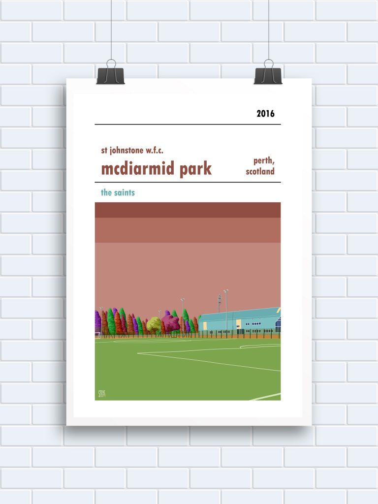 McDiarmid Park St Johnstone WFC prints