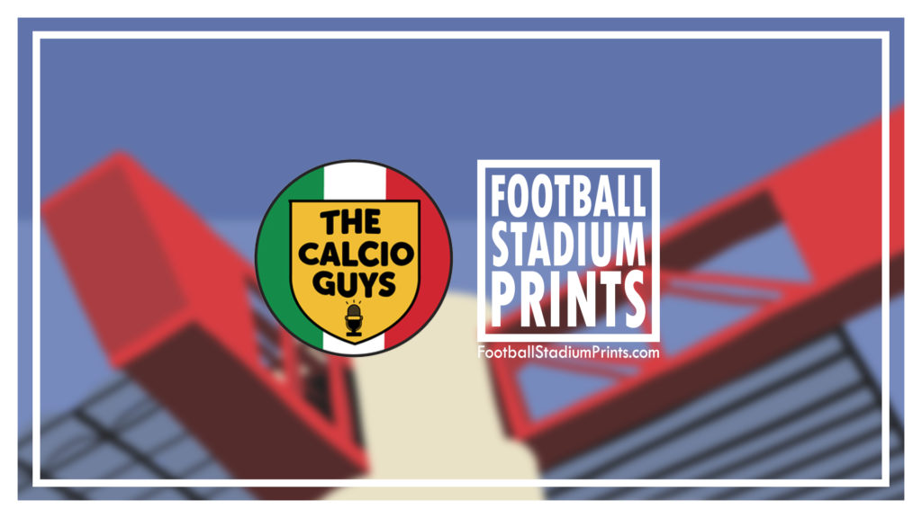 The Calcio Guys and Football Stadium Prints