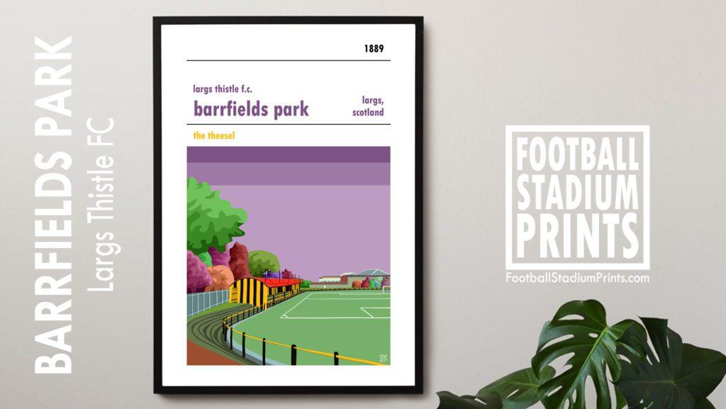 Barrfield Park Largs Thistle