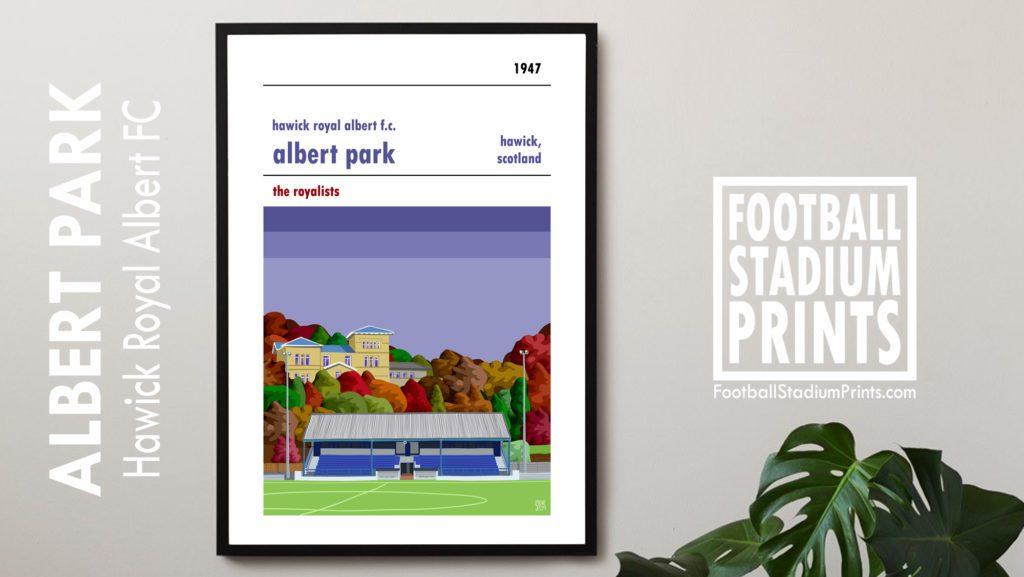 Albert Park Hawick Royal Albert