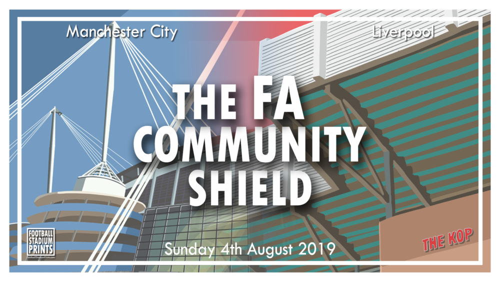 Football Stadium Pictures of The FA Community Shield 2019