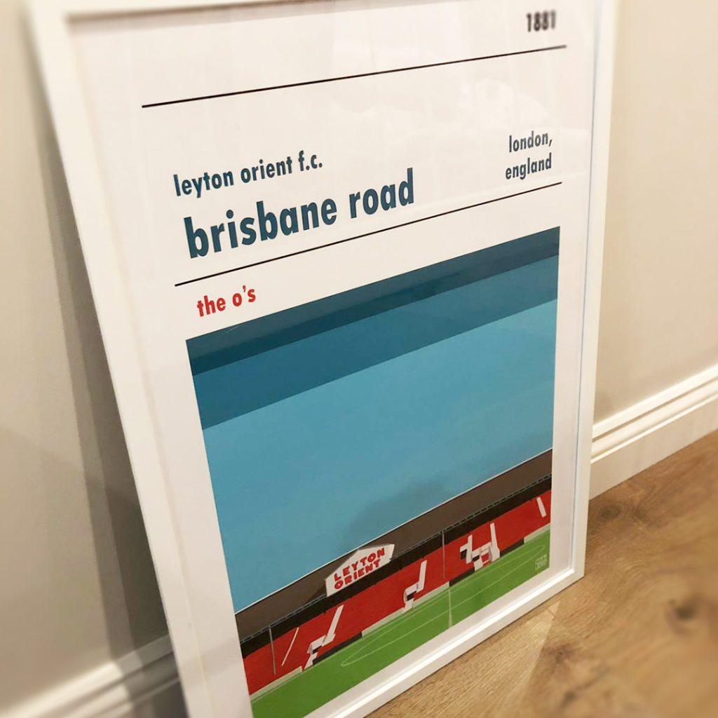 Leyton Orient Brisbane Road Print