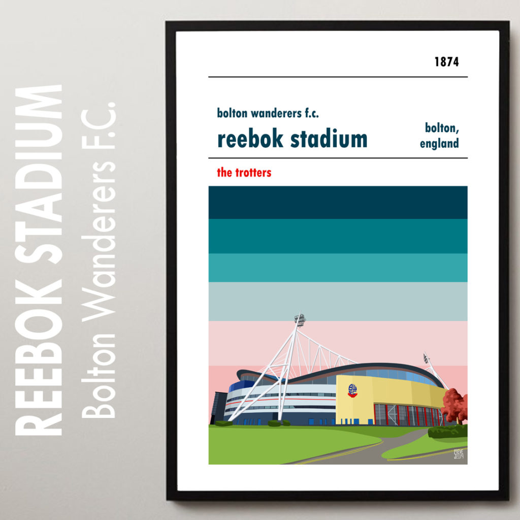 Bolton Wanderers FC Football Poster