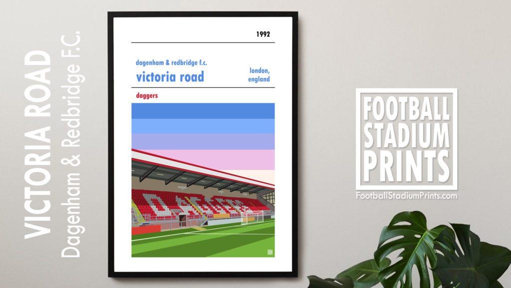 Dagenham & Redbridge FC Framed Print