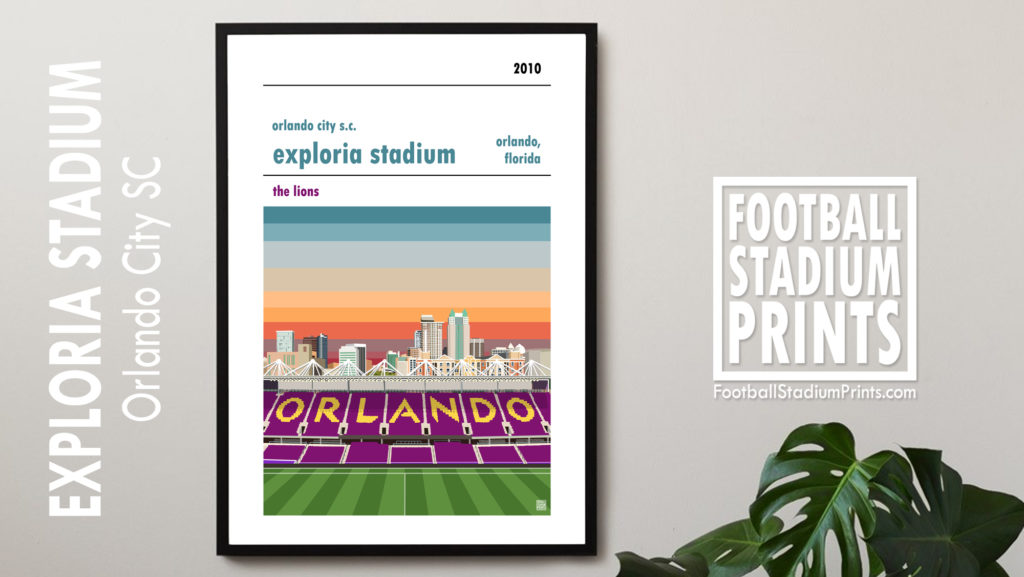 Orlando City football poster