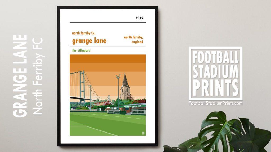 North Ferriby FC framed print