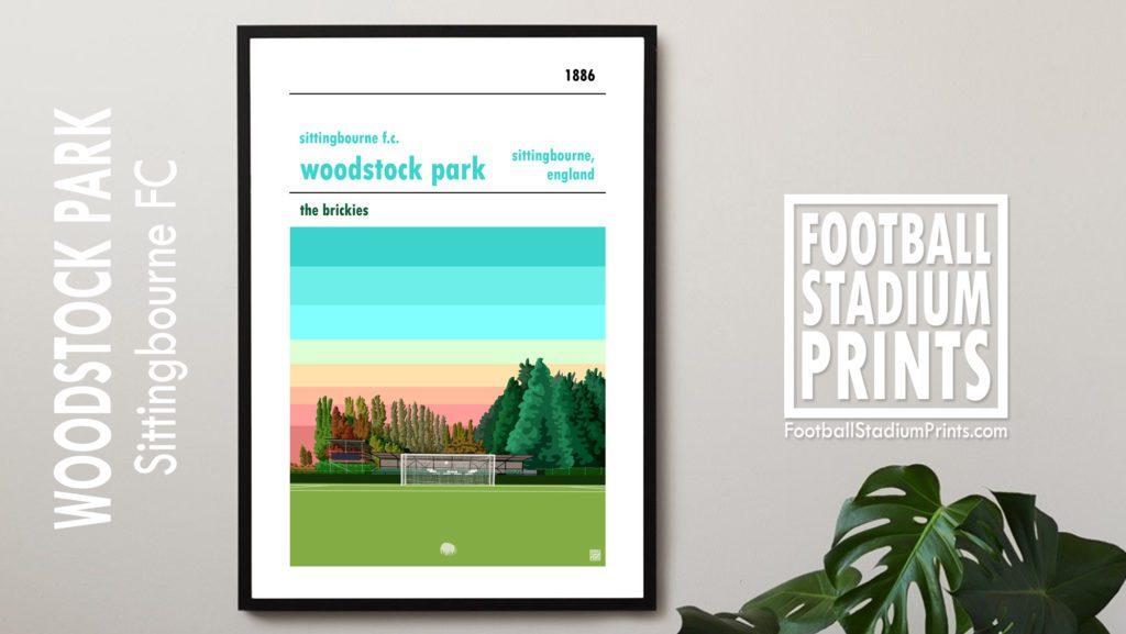 Framed print of Sittingbourne FC
